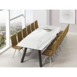 TABLE OVALE CÉRAMIQUE ref.KU/10