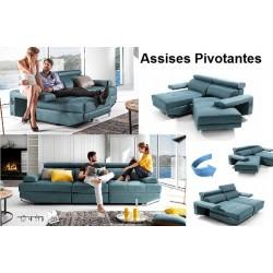 CANAPÉS CONVERTIBLES SM/564 lit + relax