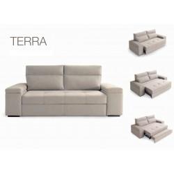 Canapé convertible TERRA lit + relax