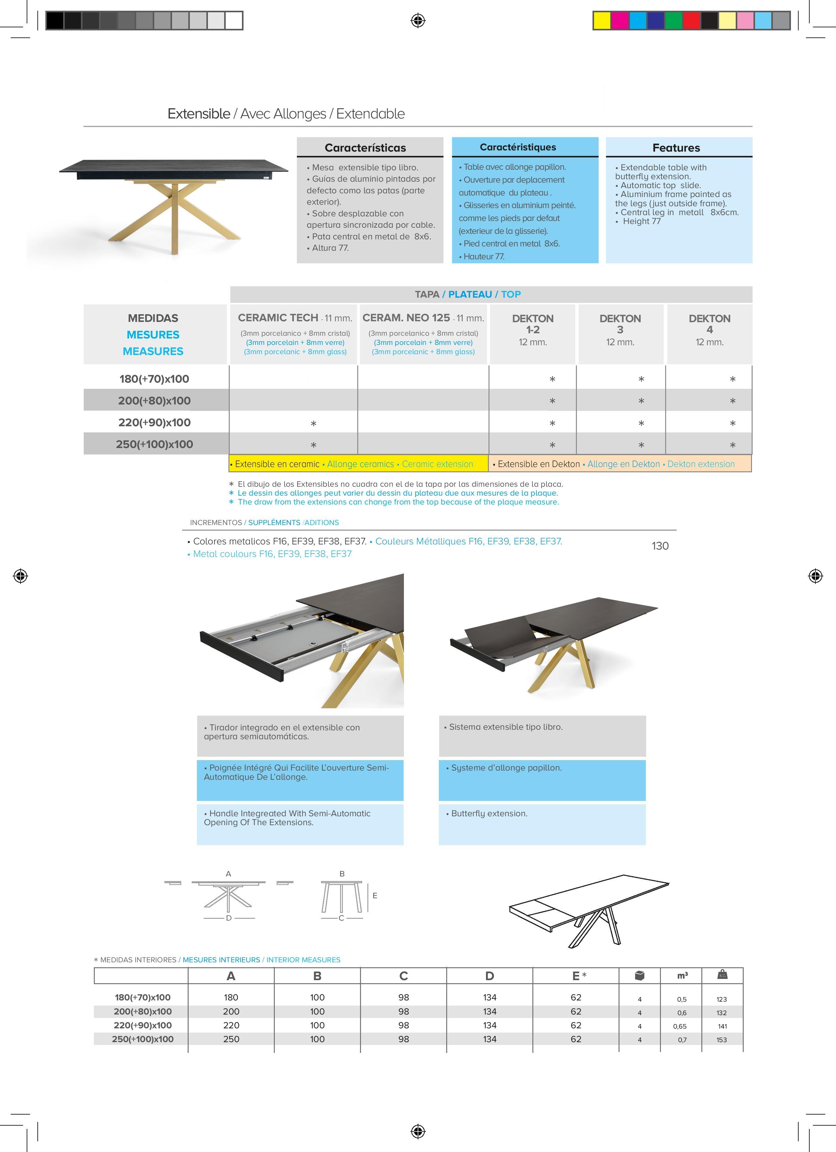 Table-pieds-central-fixe-extensible-céramique-DEKTON-epoxy