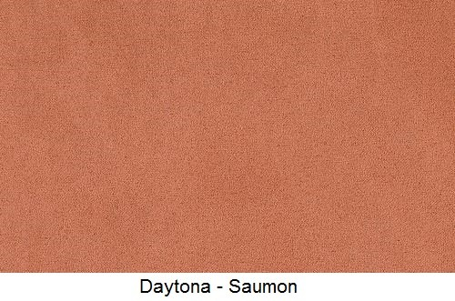 tissu microfibre DAYTONA-SAUMON