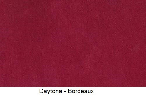 tissu microfibre DAYTONA-BORDEAUX