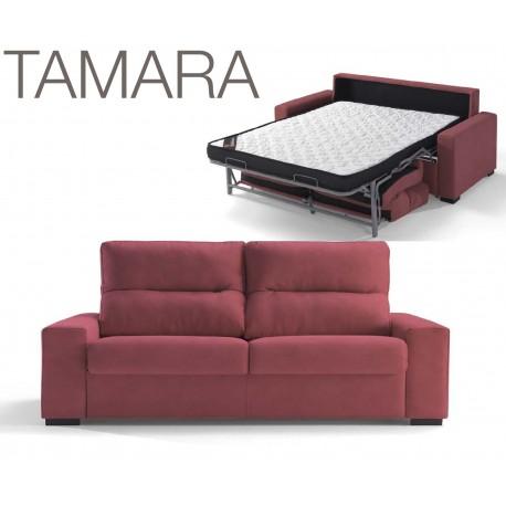 TAMARA canapé-lit type rapido fauteuil au canapé d'angle tissu & coloris au choix