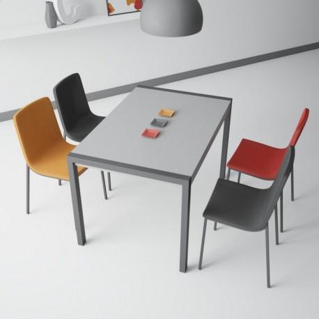 table céramique cement CA-01 METAL anthracite - fixe ou extensible