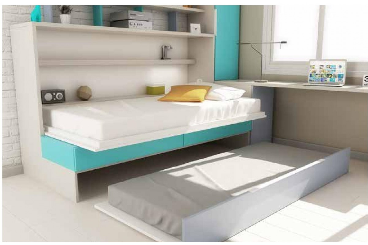 armoire lit escamotable auto portant horizontale rabattable gigogne canap banquette gain de. Black Bedroom Furniture Sets. Home Design Ideas
