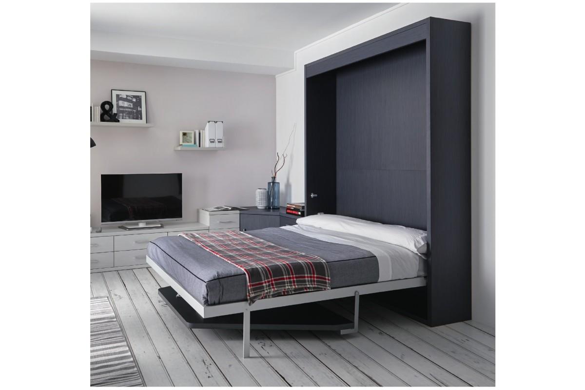 armoire lit escamotable vertical rabatable table repas personnalisable sur mesure am nagement. Black Bedroom Furniture Sets. Home Design Ideas