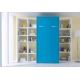 Lit escamotable vertical VERTI personnalisable - se décline en 2 versions avec ou sans étagère intérieure