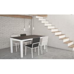 TABLE CÉRAMIQUE CA/02 version pieds métal