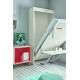 Lit escamotable avec Bureau SANARY vertical 90x190 ou 90x200 cm