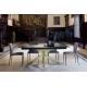Table fixe ou extensible en Céramique sur verre ou en dekton KU/13 vendue dans le 04 entre Manosque et Sisteron
