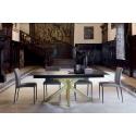 Table en Céramique KU/13 pieds central