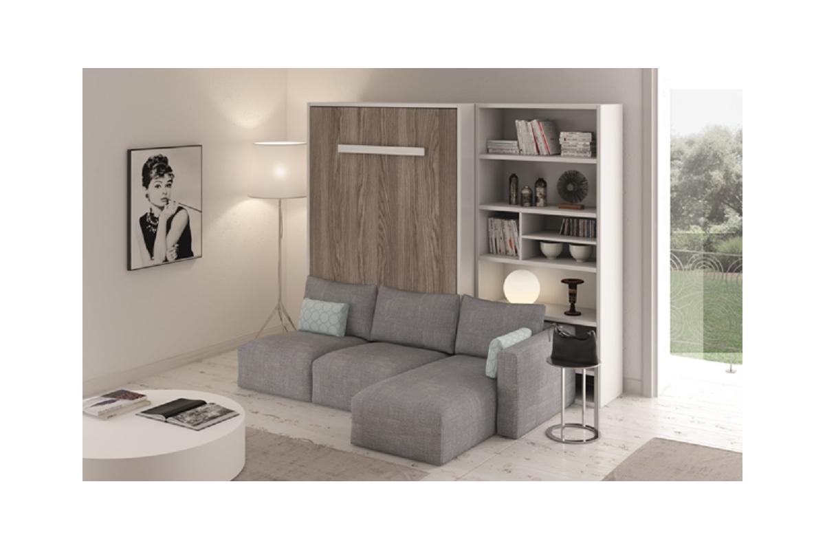 Armoire Gain De Place meuble lit escamotable vertical gain de place avec canapé.