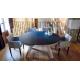 Table ronde EXTENSIBLE en Céramique sur verre ou en Dekton pas cher livrable sur Nice