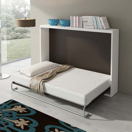 Armoire lit escamotable horizontal