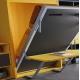 Lit escamotable vertical 140x190 cm avec Bureau intégré pour gagner de la place dans une petite chambre livrable sur Paris