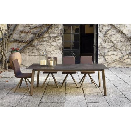 Table en Céramique KU/12  fixe ou extensible
