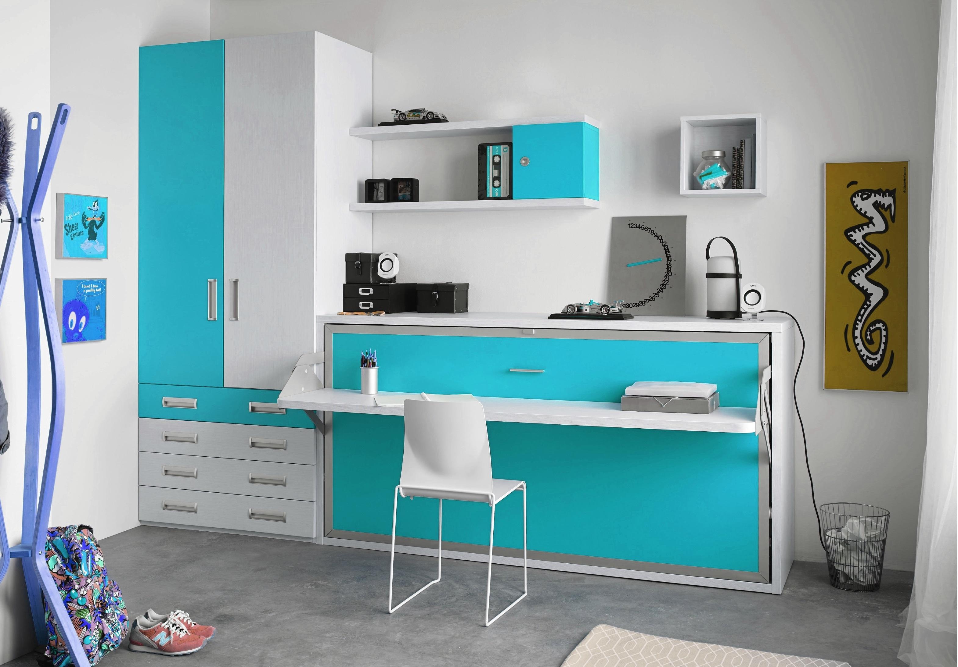 Tv Escamotable Lit armoire lit escamotable 90x190 ou 140x190 gain de place avec