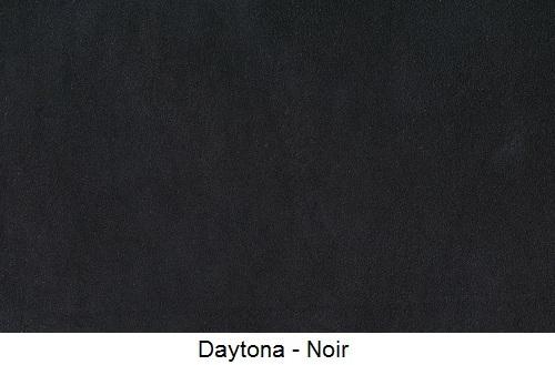 tissu microfibre DAYTONA-NOIR
