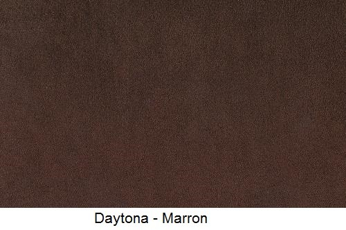 tissu microfibre DAYTONA-MARRON